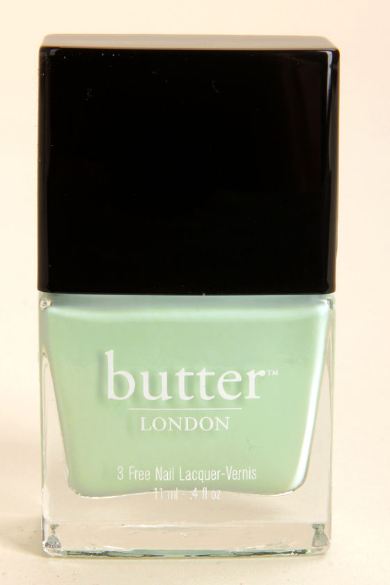 Butter London Fiver Mint Nail Lacquer at Lulus.com!