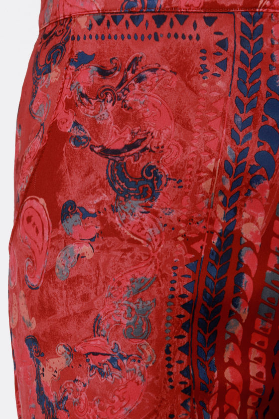 Insight Last Avenue Red Print Pants at Lulus.com!
