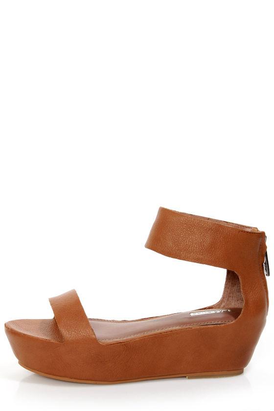 1d8ab40d0f9f Matiko Angelica Cuoio Brown Leather Flatform Platform Sandals -  173.00