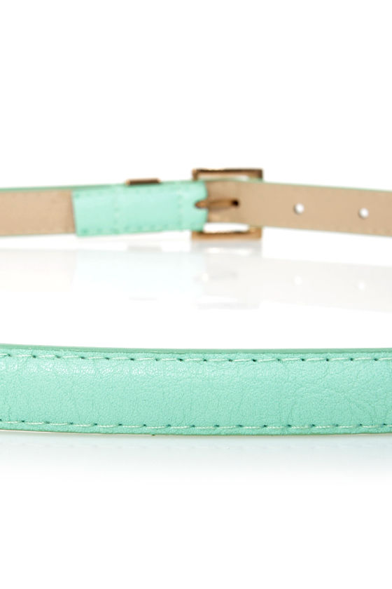 Triple Digits Skinny Belt at Lulus.com!
