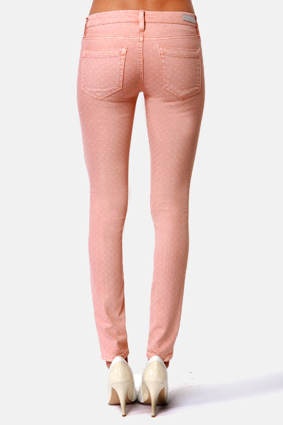 Blank NYC Spray On Blush Pink Jeggings at Lulus.com!