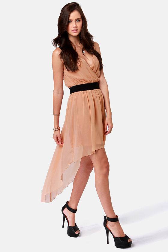 Costa Blanca Meet Me in Greece Peach Dress at Lulus.com!