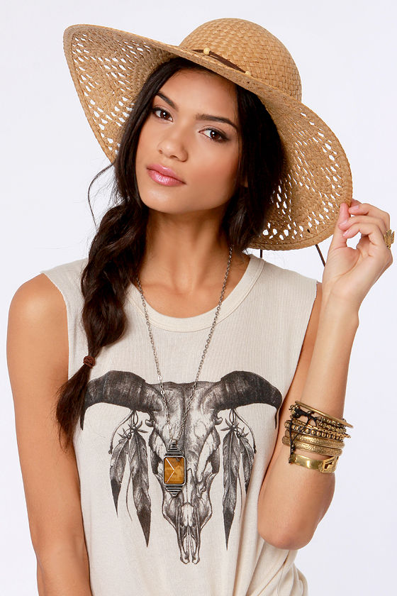 05d0fdb1 Roxy Shady Days Hat - Straw Hat - Blue Hat - $36.00