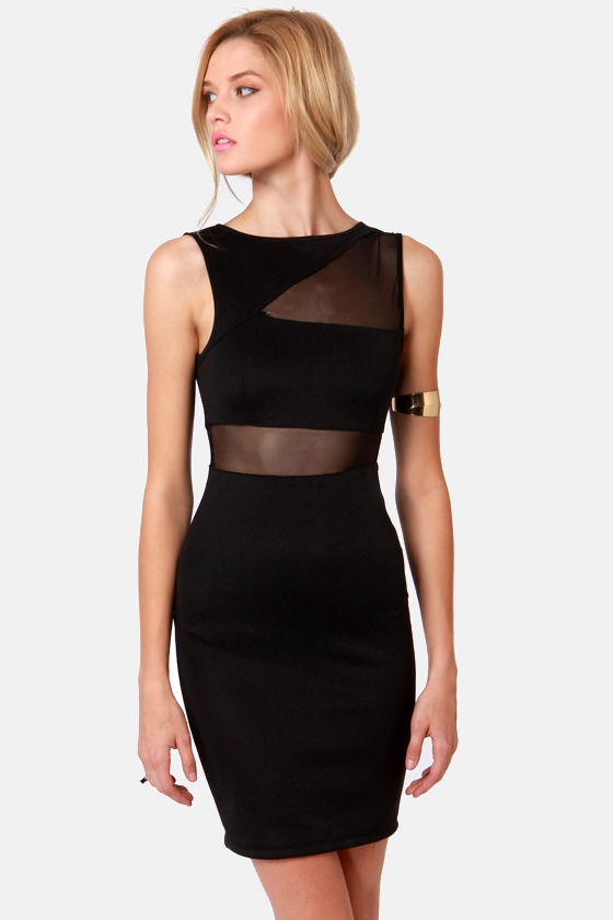 Sexy Black Dress - Cutout Dress - Bodycon Dress - $36.50