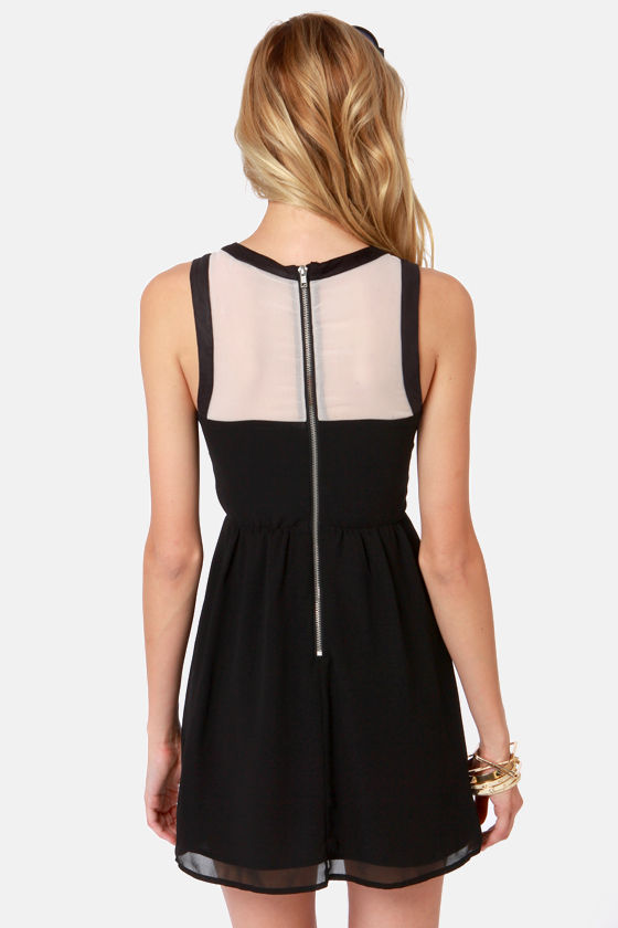 Ladakh Night Call Black Bustier Dress at Lulus.com!