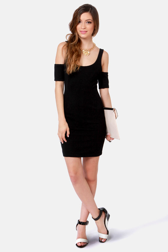 BB Dakota Mayer Black Dress at Lulus.com!