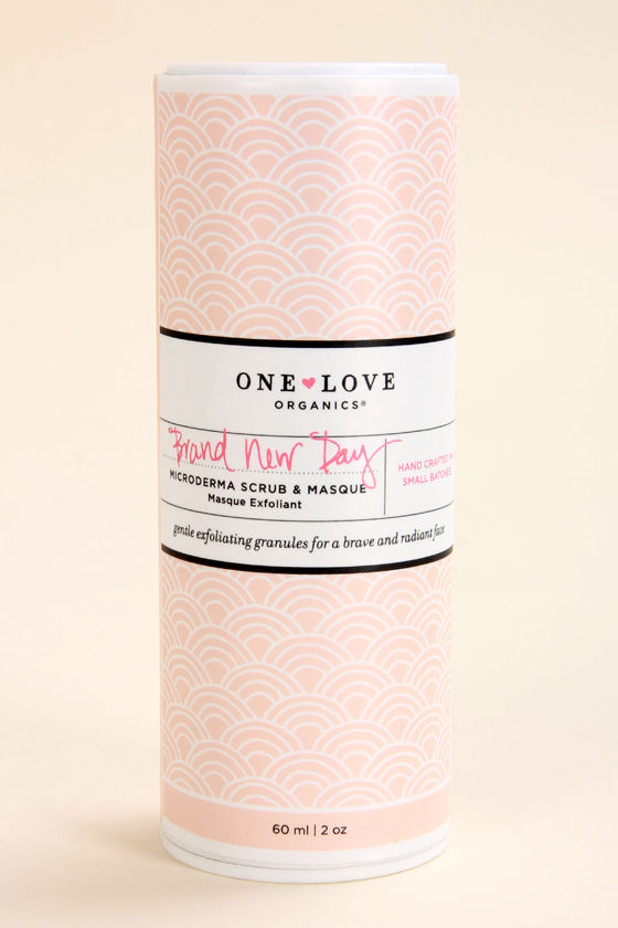 One Love Organics Brand New Day Microderma Scrub & Masque 2 oz at Lulus.com!