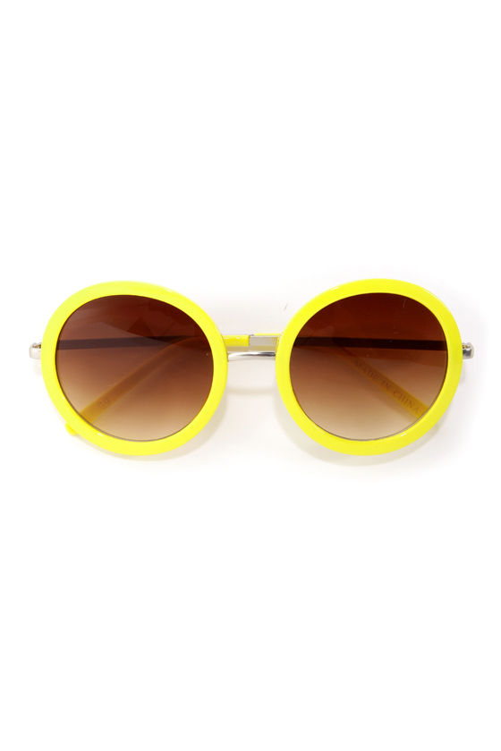 Final Re-Vision Yellow Sunglasses at Lulus.com!