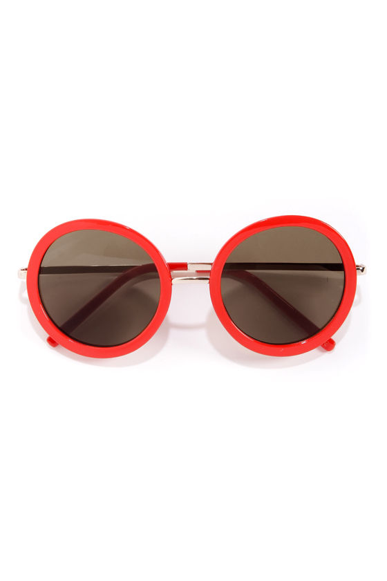 Final Re-Vision Red Sunglasses at Lulus.com!