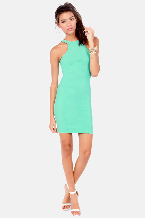 LULUS Exclusive Breaking Curve-few Mint Dress at Lulus.com!