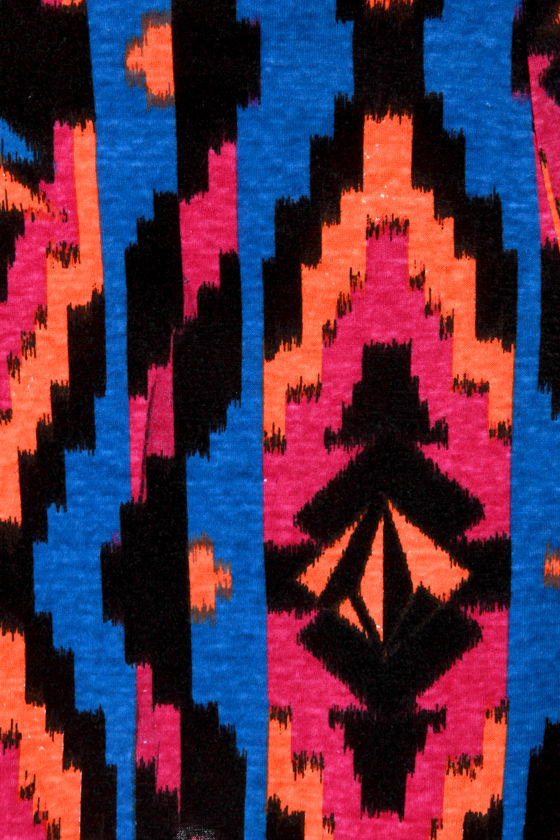 Volcom V.Co Crush Tribal Print Dress at Lulus.com!