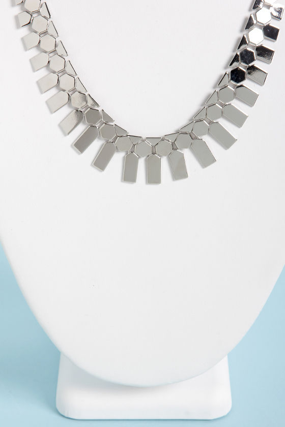 Built to Scales Silver Necklace at Lulus.com!
