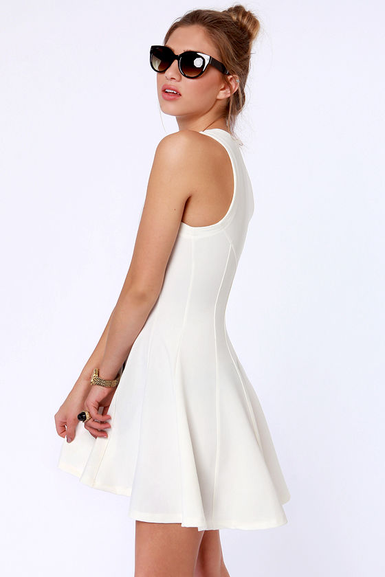 Agent 00-Heaven Ivory Dress at Lulus.com!