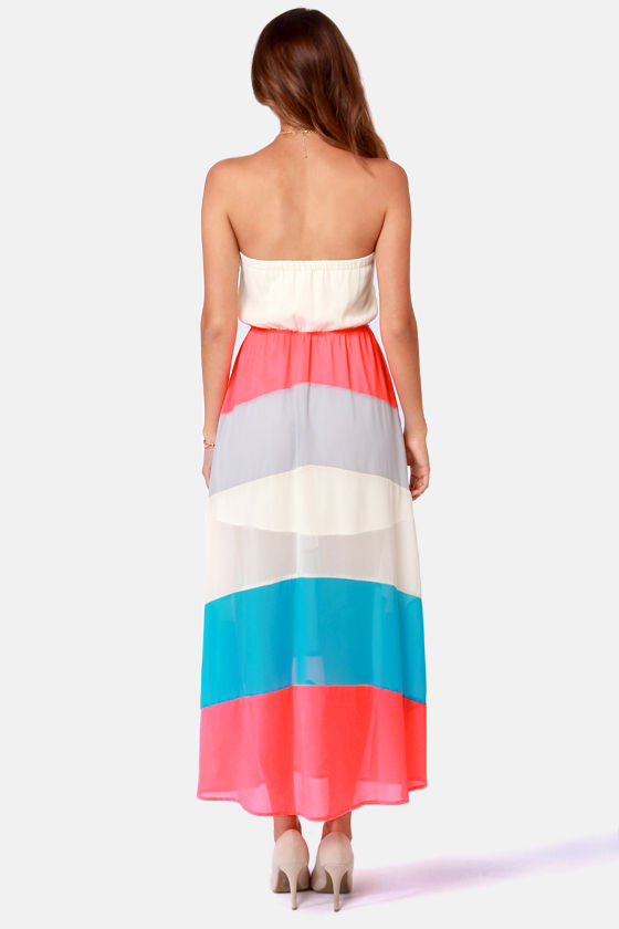 We Be-long Together Strapless Maxi Dress at Lulus.com!