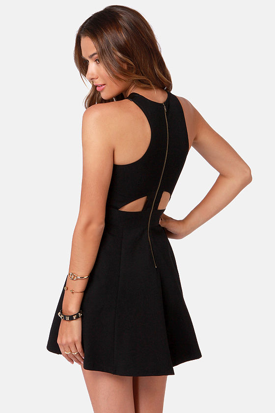 Rebel Epoque Black Vegan Leather Dress at Lulus.com!
