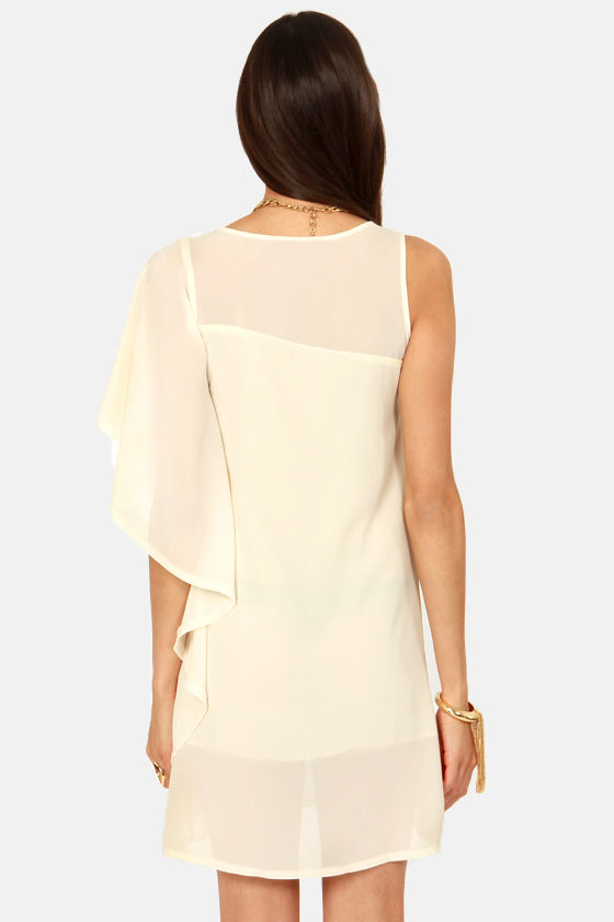 Sheath's a Keeper Cream Dress at Lulus.com!