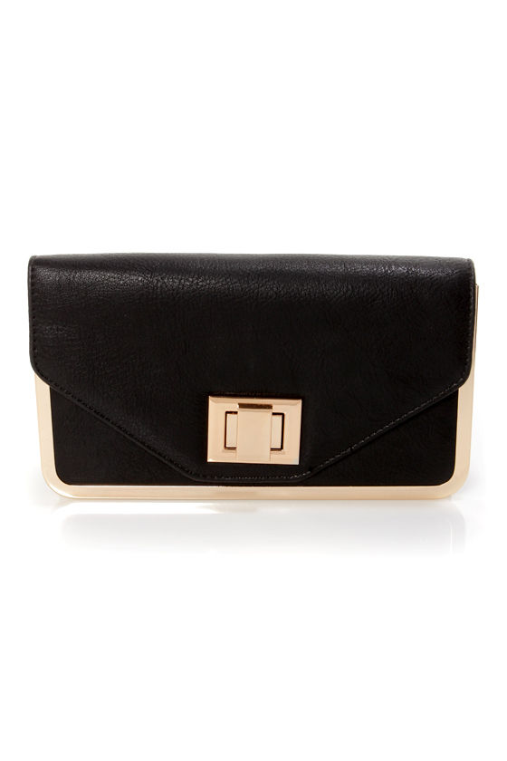 Box Office Black Purse by Urban Expressions at Lulus.com!