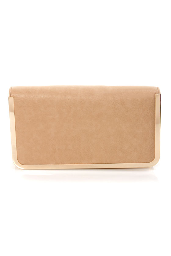 Box Office Beige Purse by Urban Expressions at Lulus.com!