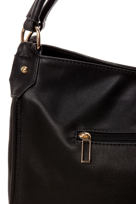 City Slicker Black Handbag at Lulus.com!