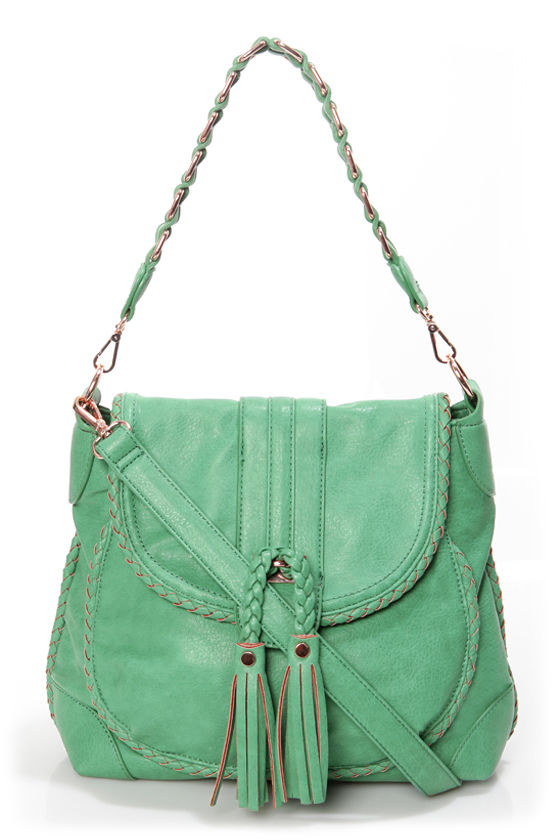 Saddle Up Sea Green Handbag by Urban Expressions at Lulus.com!