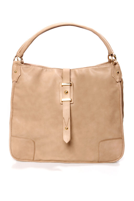 City Slicker Beige Handbag at Lulus.com!