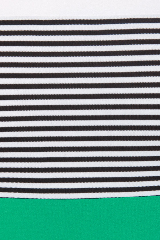 Lucky Me Striped Green Dress at Lulus.com!