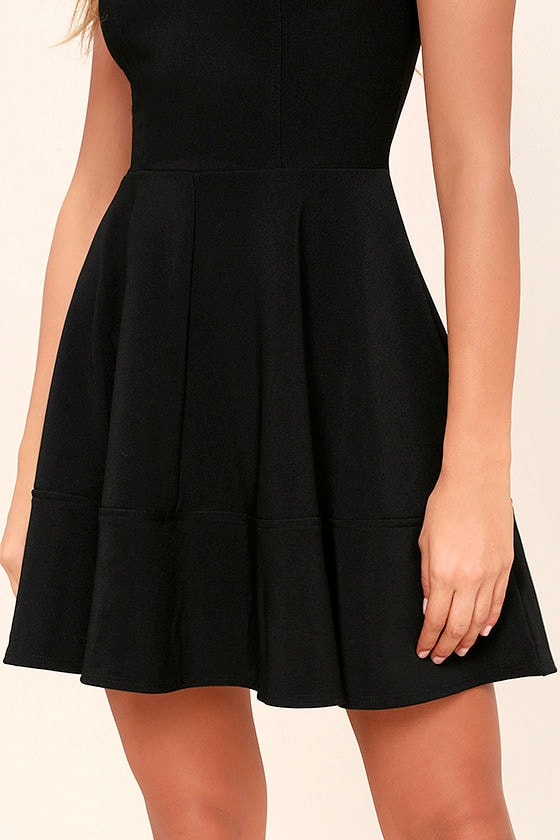 Home Before Daylight Black Dress at Lulus.com!