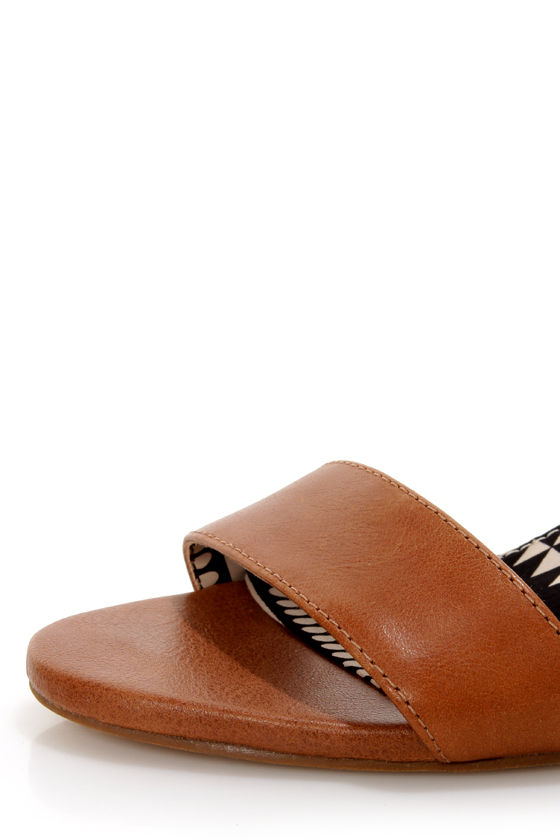 Jessica Simpson Erikk Tan Single Strap Sandals at Lulus.com!