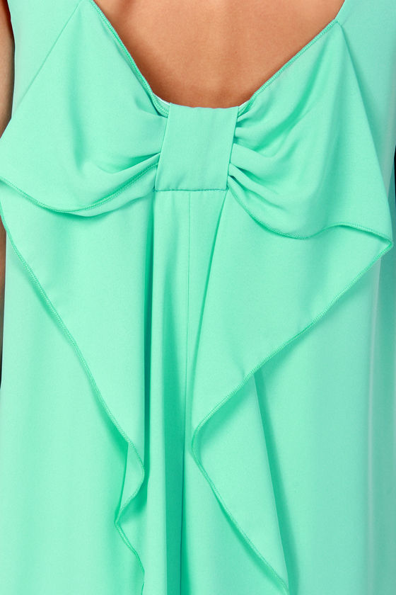 Under the Bow-dwalk Mint Shift Dress at Lulus.com!