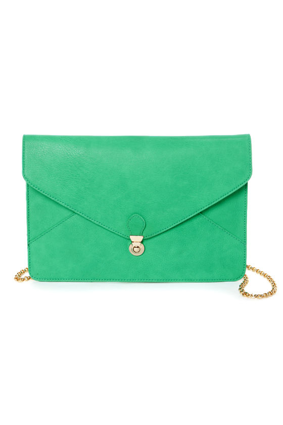 Clutch and Go Teal Clutch at Lulus.com!