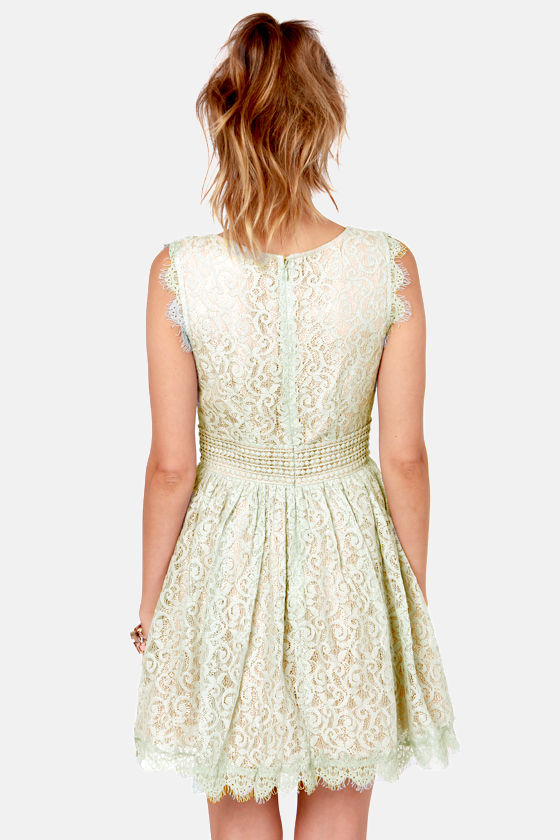 Darling Angelina Pale Blue Lace Dress at Lulus.com!