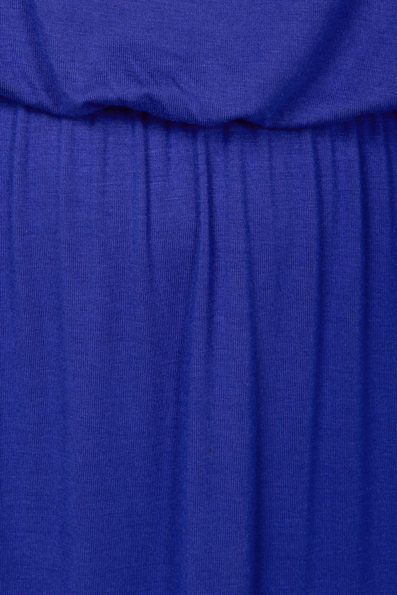 LULUS Exclusive Most Wanted Royal Blue Maxi Dress at Lulus.com!