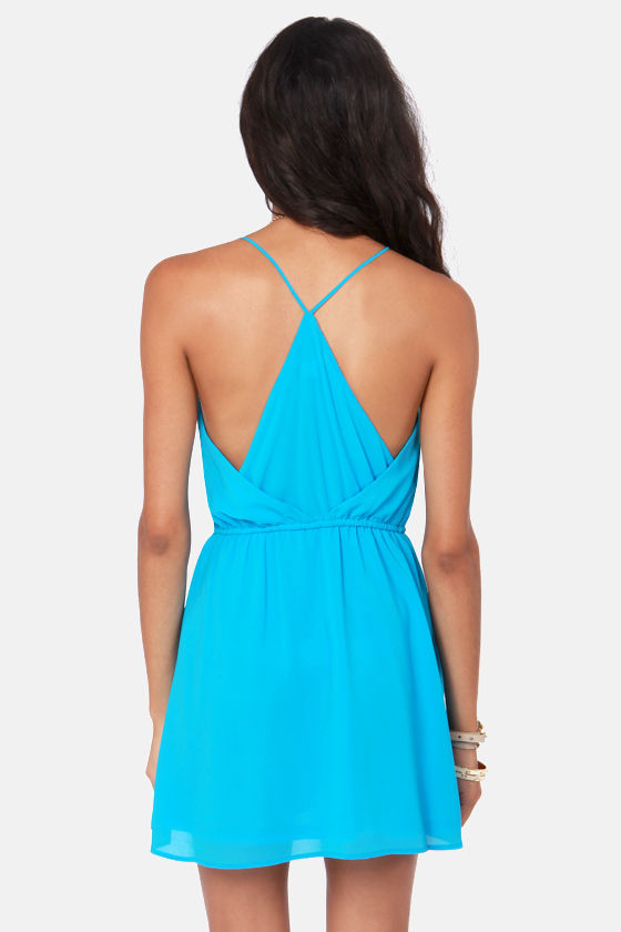 Show and Tell Blue Dress at Lulus.com!