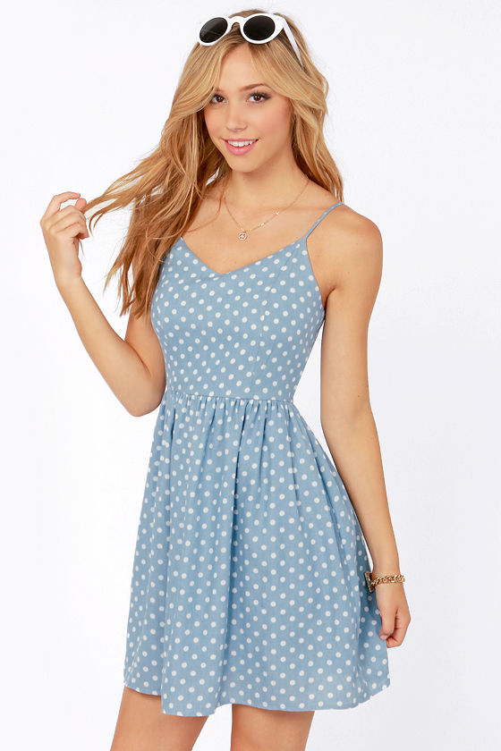Find great deals on eBay for blue and white polka dot dress. Shop with confidence.