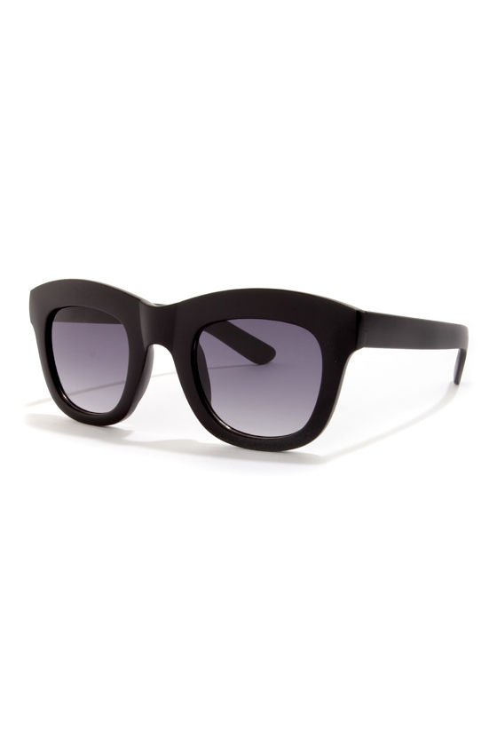 Cinema Black Sunglasses at Lulus.com!