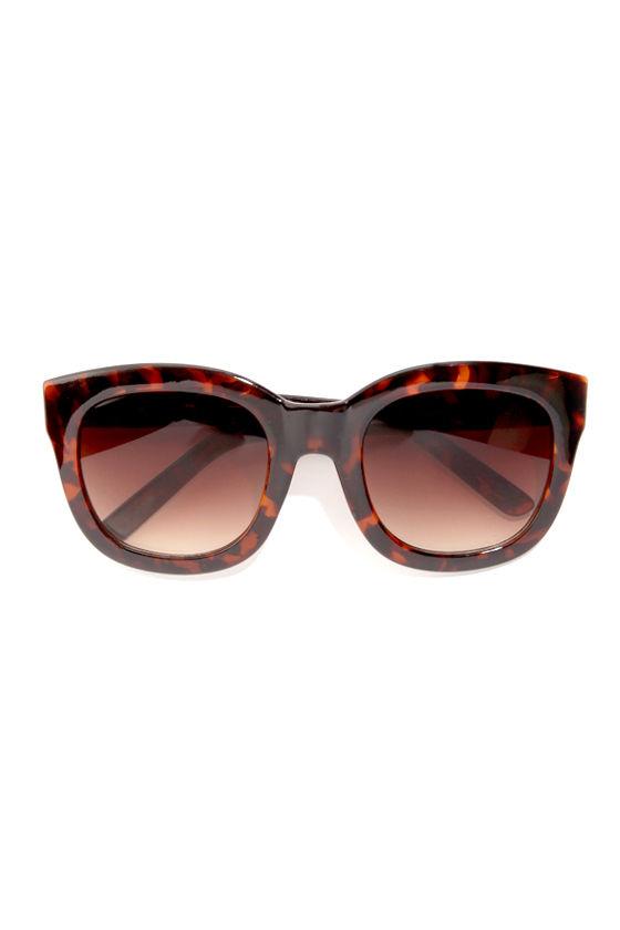 e354c95989 A.J. Morgan Feline Sunglasses - Tortoise Sunglasses -  13.00