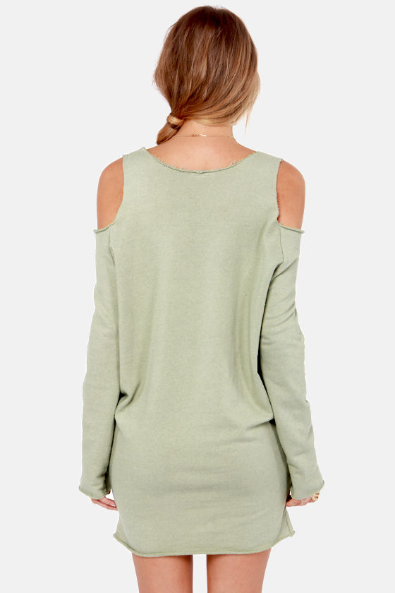 Terry-in' Up My Heart Sage Green Dress at Lulus.com!