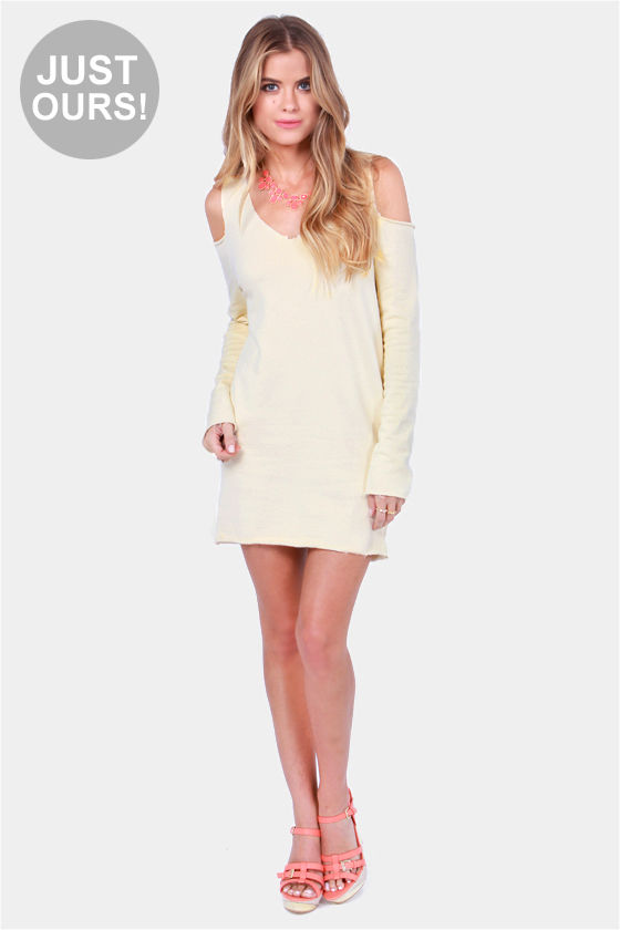 Terry-in' Up My Heart Cream Dress at Lulus.com!