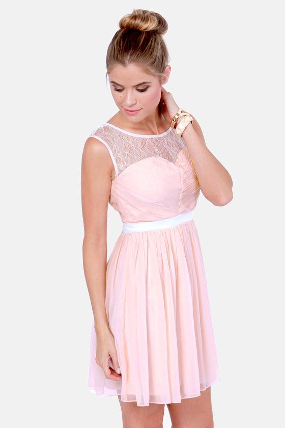 Pink Sundresses for Juniors