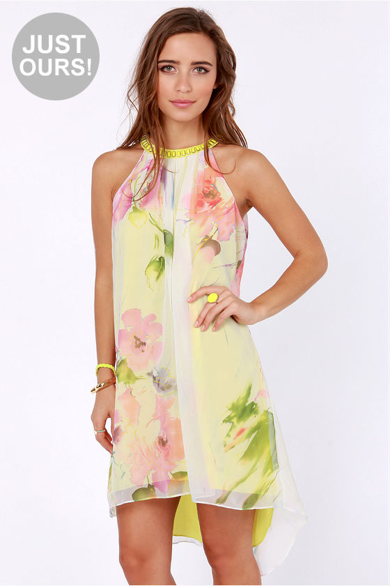 LULUS Exclusive Unchained Melody Floral Print Dress at Lulus.com!
