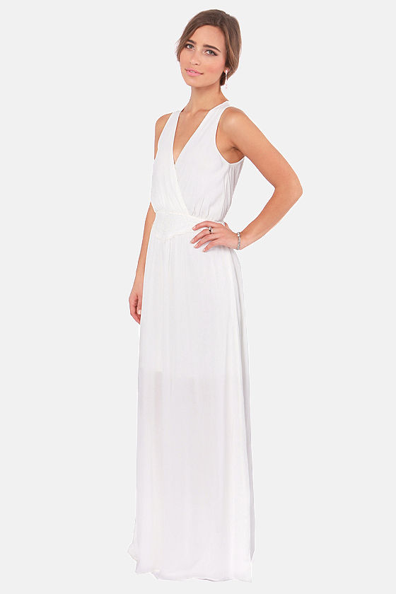 LULUS Exclusive The Great Maxi Ivory Maxi Dress at Lulus.com!