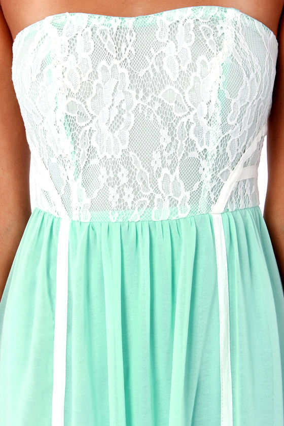 Best Lace Scenario Mint Green Lace Maxi Dress at Lulus.com!