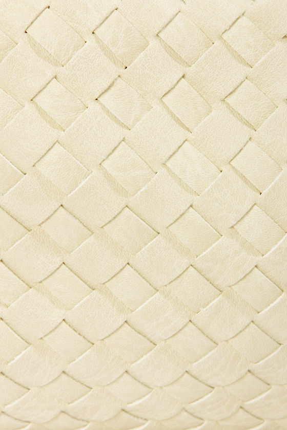 Pulling Weaves Woven Ivory Clutch at Lulus.com!