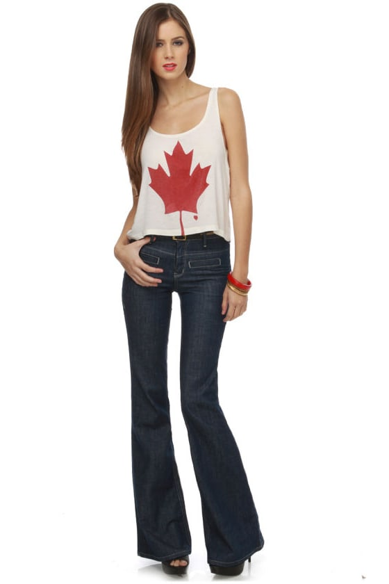 Truck Jeans Kiki High Waisted Flare Jeans