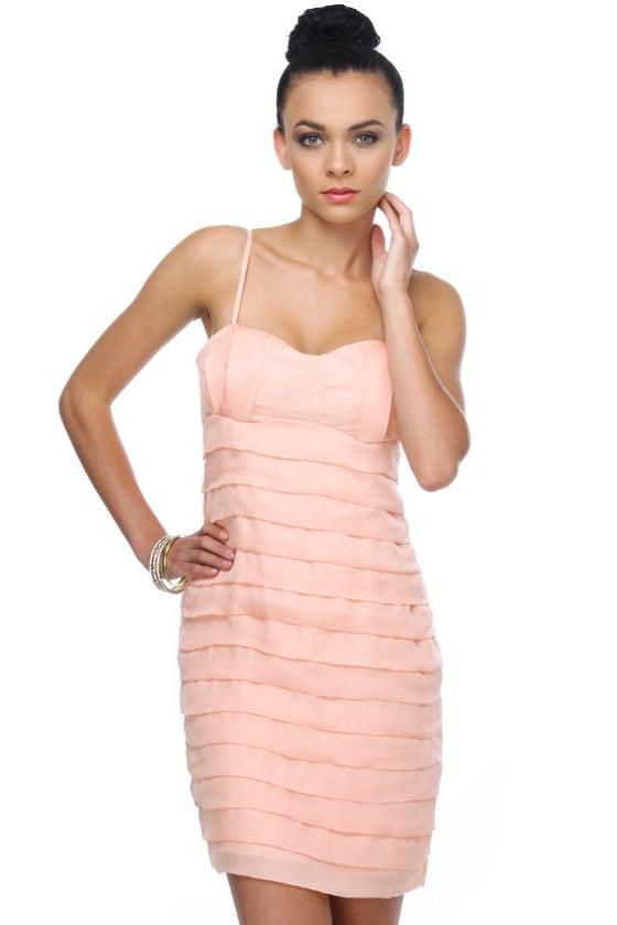 Break of Day Peach Dress