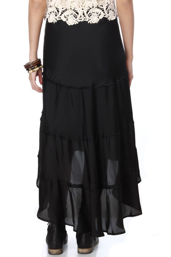 BB Dakota Janine Black Skirt