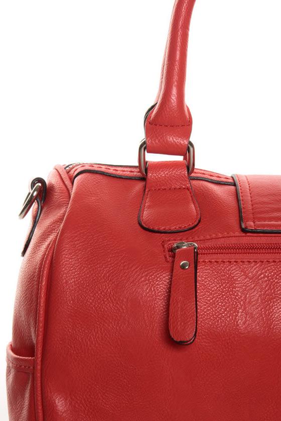 Melie Bianco Joanna Red Handbag