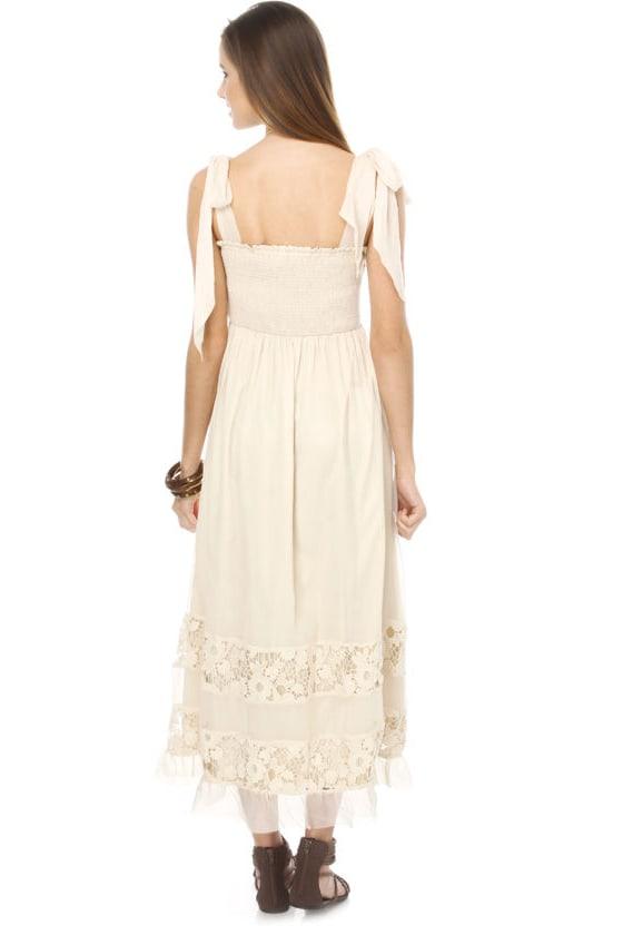 Sweetwater Beige Maxi Dress