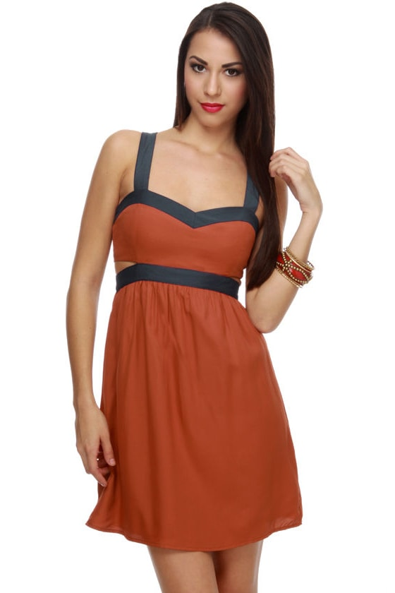 Good Measure Color Block Dress