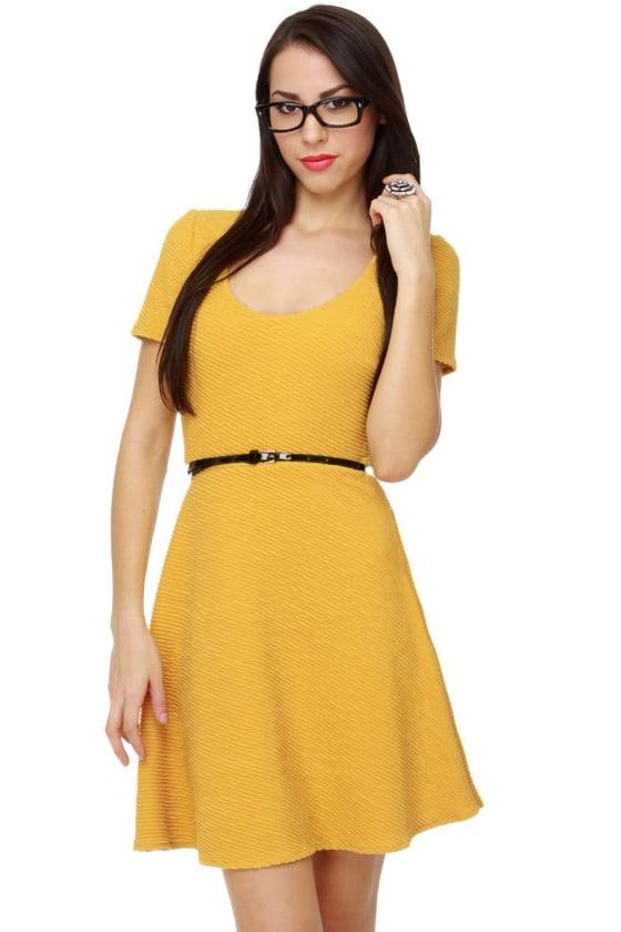 Sunny Days Yellow Dress